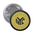 Made In New York 3 Cm Round Badge