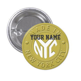 Made In New York Buttons