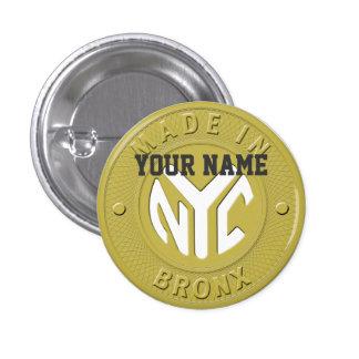 Made In New York Bronx 3 Cm Round Badge