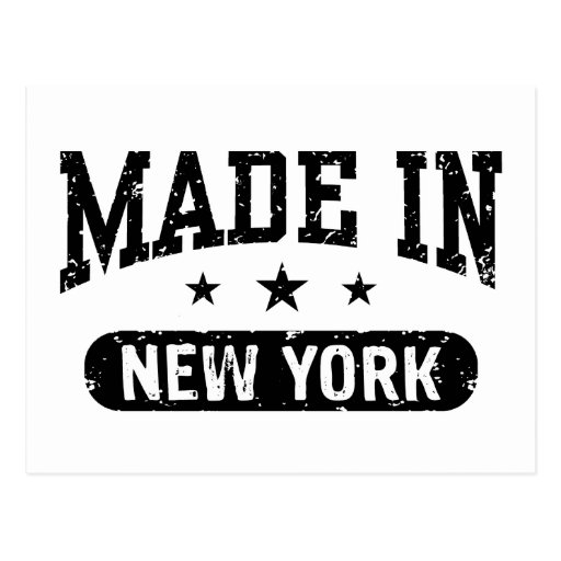 Made in New York Post Card