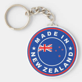 made in new zealand country flag product label keychains