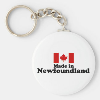 Made in Newfoundland Key Ring