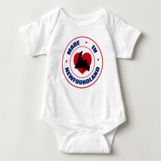 Made In Newfoundland with Island Baby Bodysuit