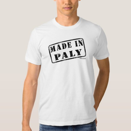 Made in Paly Shirt