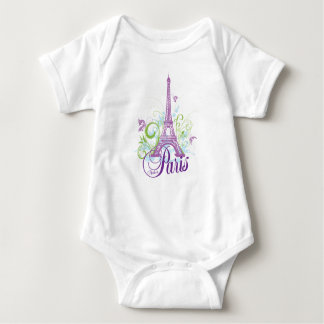 Made in Paris (Eiffel Tower) Baby Bodysuit