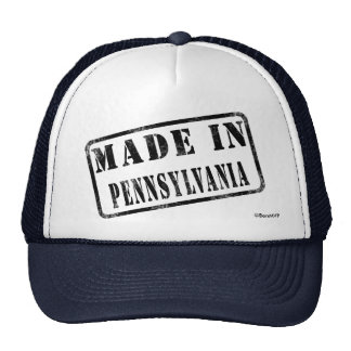Made in Pennsylvania Cap