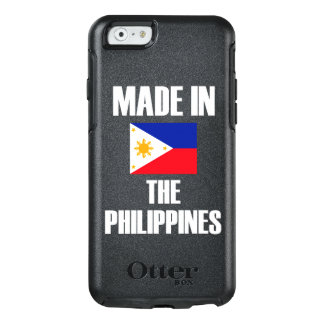 Made In Philippines Flag OtterBox iPhone 6/6s Case