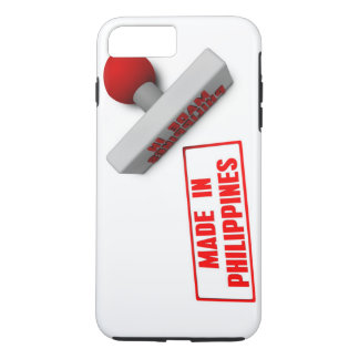 Made in Philippines Stamp or Chop on Paper Concept iPhone 7 Plus Case