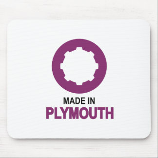 Made In Plymouth Mouse Pad