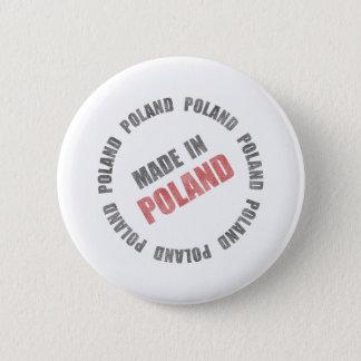 Made In Poland 6 Cm Round Badge