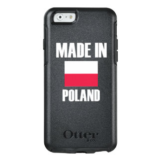 Made In Poland Flag OtterBox iPhone 6/6s Case
