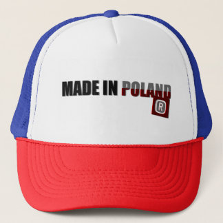 Made in Poland, original, country proud, pride cap