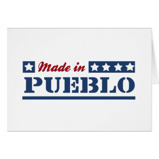 Made in Pueblo Greeting Card
