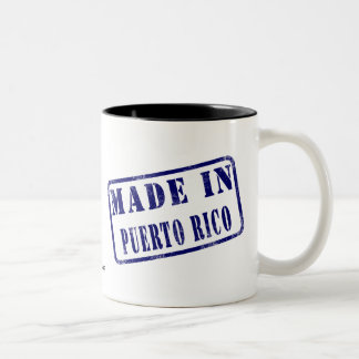 Made in Puerto Rico Two-Tone Coffee Mug