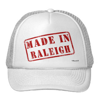 Made in Raleigh Cap