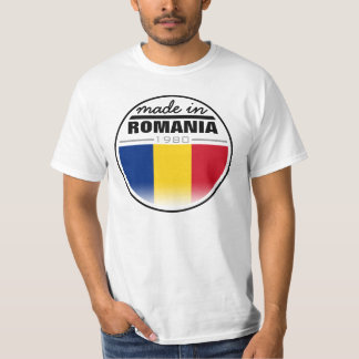 "Made in ...""Romania"" T-Shirt"