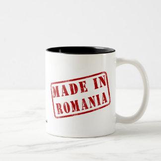 Made in Romania Two-Tone Coffee Mug