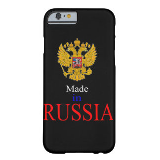 made in russia barely there iPhone 6 case