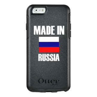 Made In Russia Flag OtterBox iPhone 6/6s Case
