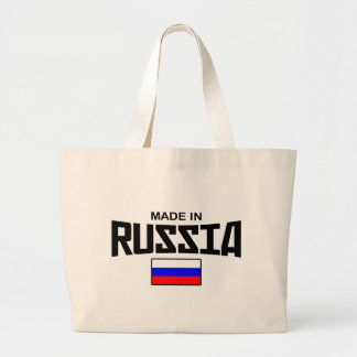 Made In Russia Large Tote Bag