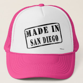 Made in San Diego Trucker Hat