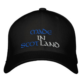 MADE IN SCOTLAND EMBROIDERED CAP