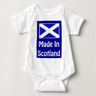 Made In Scotland Logo Baby Bodysuit