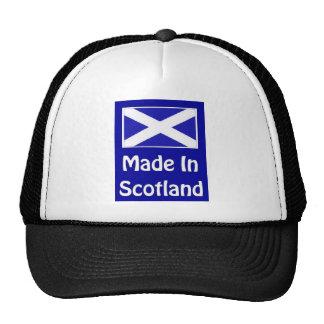 Made In Scotland Logo Mesh Hat