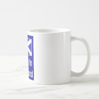 Made In Scotland Logo Mug