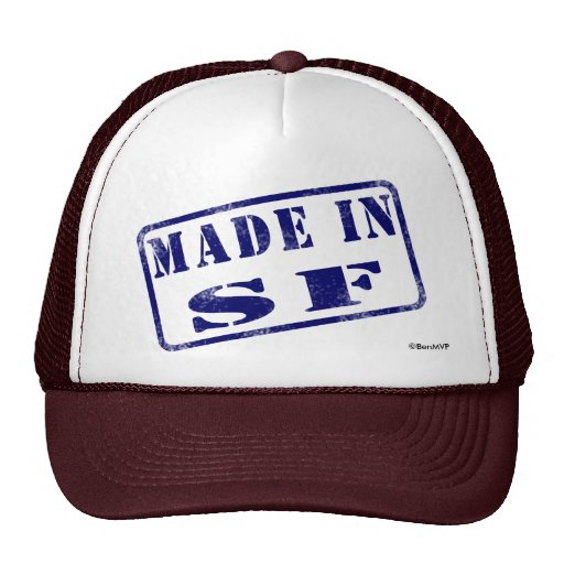 Made in SF Hats