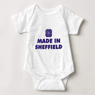 Made in Sheffield Baby Bodysuit