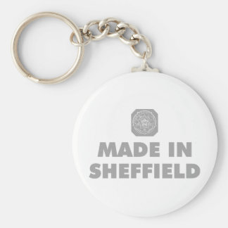 Made in Sheffield Key Ring