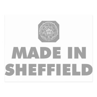 Made in Sheffield Post Card