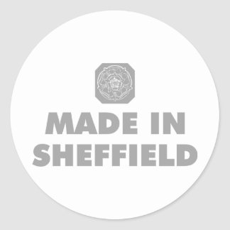 Made in Sheffield Classic Round Sticker