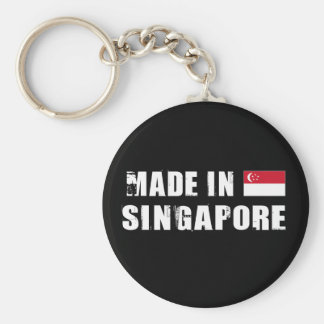 Made in Singapore Key Ring