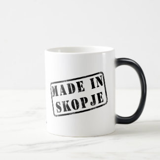 Made in Skopje Morphing Mug
