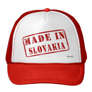 Made in Slovakia Cap