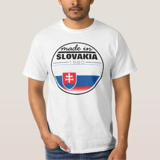 "Made in ...""Slovakia"" T-Shirt"