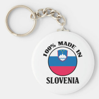 Made In Slovenia Key Ring