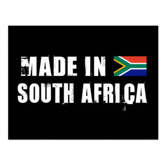 Made in South Africa Postcard