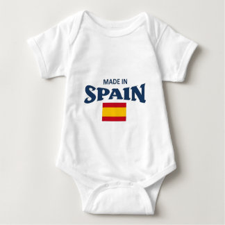 Made in spain baby bodysuit