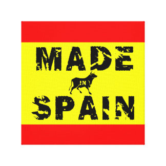 Made in Spain Canvas Print