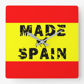 Made in Spain Wallclock