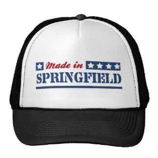 Made in Springfield MA Cap