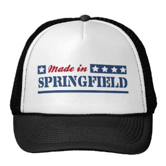 Made in Springfield OH Cap