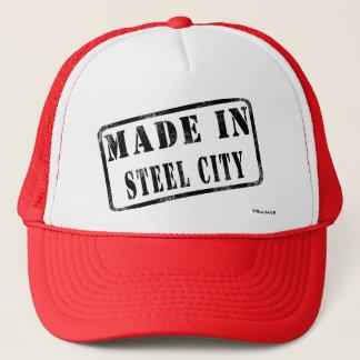 Made in Steel City Trucker Hat