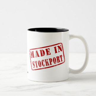 Made in Stockport Two-Tone Coffee Mug