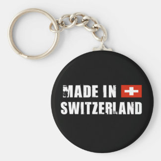 Made in Switzerland Key Ring