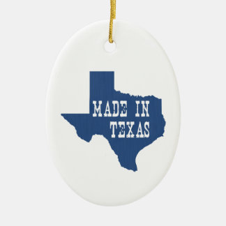 Made In Texas Christmas Ornament