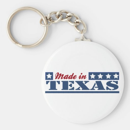 Made In Texas Key Chains